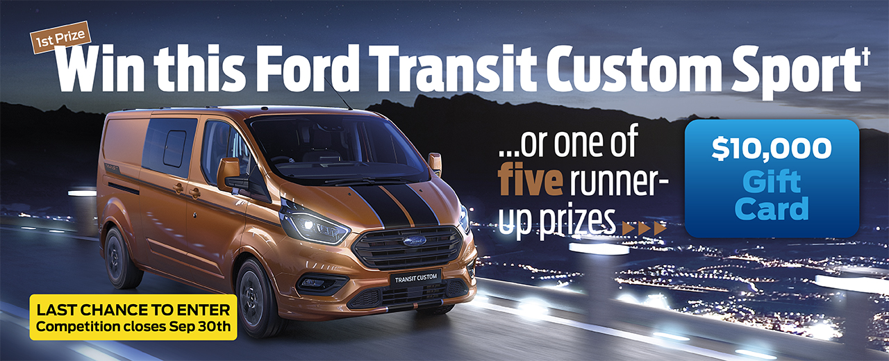 Win A Ford Transit